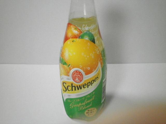 炭酸飲料 :「シュウェップス グレープフルーツブレンド」