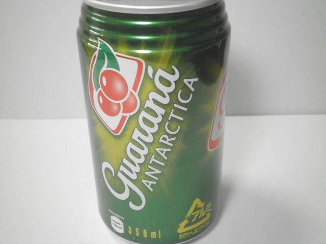 ブラジルの缶入り炭酸飲料:「ガラナ アンタルチカ」を飲んでみる!