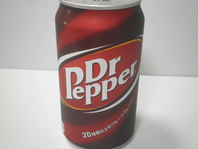 今日の飲み物:「ドクターペッパー」(缶入り)を飲む!