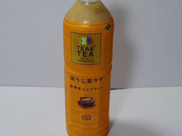 今日の飲み物:「TEAs' TEA ほうじ茶ラテ」を飲む!