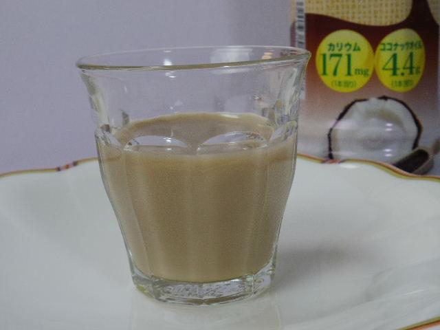 おいしいココナッツミルク コーヒー4