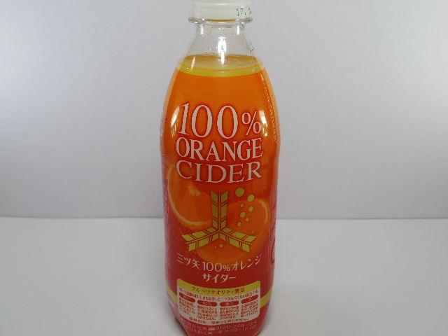 今日の飲み物:「三ツ矢100%オレンジサイダー」を飲む!