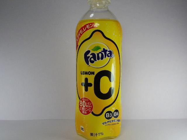 今日の飲み物:「ファンタ レモン+C」を飲む!