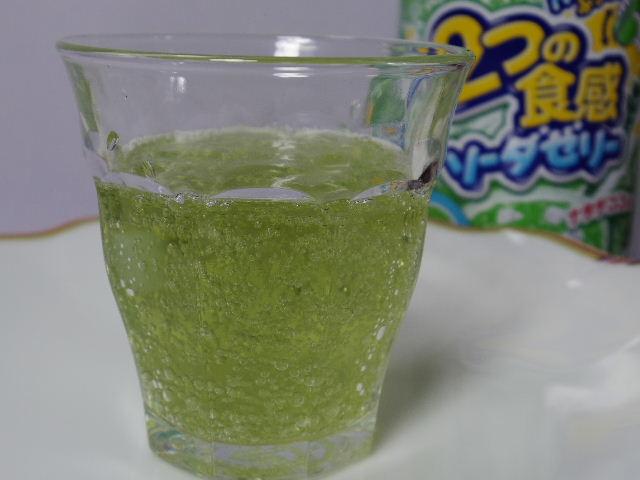 ダイドー2つの食感ソーダゼリー メロン4