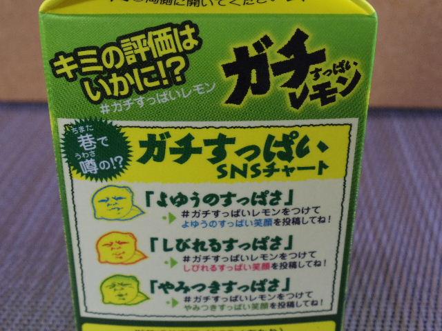 日清ガチすっぱいレモン3