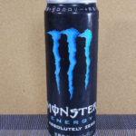 今日の飲み物:「モンスターエナジー アブソリュートゼロ」を飲む!